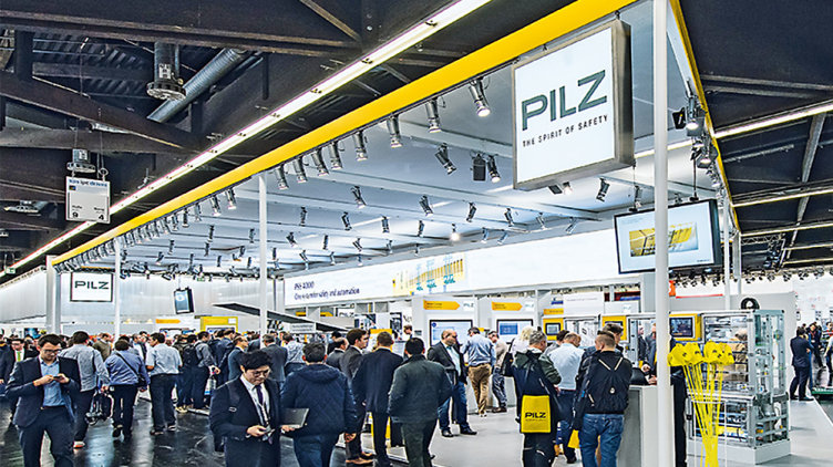 Meet Pilz at exhibitions worldwide!