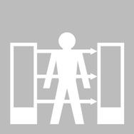 Basis Lichtvorhang Typ 4, Körperschutz