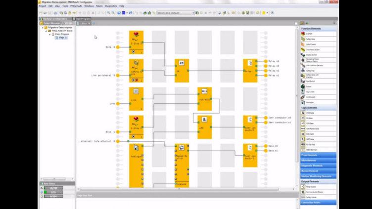 Creación de circuitos de seguridad con el PNOZmulti